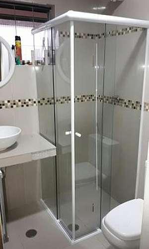 Box banheiro de vidro elegance sp