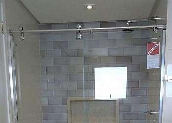 Box de vidro transparente
