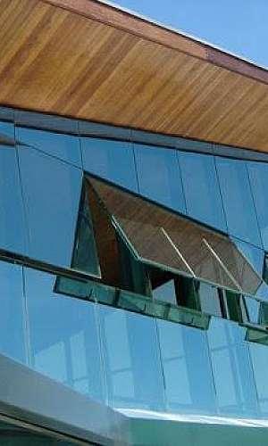 Fachada de vidro glazing