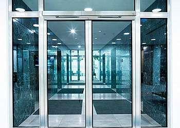 Porta vidro automática